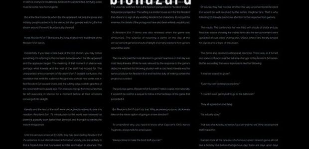 An In-Depth History About The Making of Resident Evil 7: Biohazard Presented by Dark Horse Books Dark Horse Books and Capcom presentResident Evil 7: Biohazard Document File, a perfect companion […]