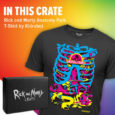 Grab your portal gun and unbox exclusive apparel & gear in the next Rick and Morty crate!