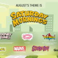 Enjoy Saturday Mornings with the August Loot Crate, Loot Wear and Loot Crate DX Crates!