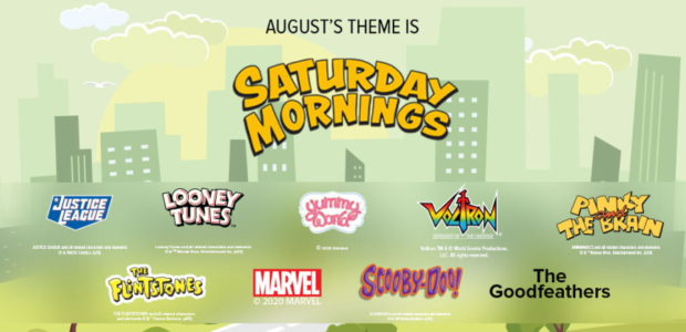 Enjoy Saturday Mornings with the August Loot Crate, Loot Wear and Loot Crate DX Crates! Throw on your pajamas, grab that bowl of cereal and start your weekend off right […]