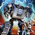 Join Marty McFly and the Autobots for the First-Ever Storyline Featuring Hasbro and NBCUniversal's Newest Creation, Gigawatt!