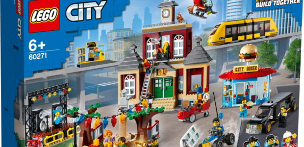 Re-create your favourite scenes from the popular series with The LEGO Group's brand-new LEGO® City Main Square – available to buy from 1st September from LEGO.com and LEGO Stores. Families […]
