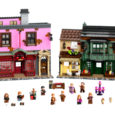 Launching today,thespectacular newLEGO® Harry Potter®set allows fansto be transported tothe most magical shopping street in the world, now in brick form!