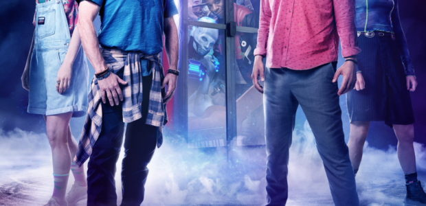 Orion Pictures has released a new clip from BILL & TED FACE THE MUSIC. When Bill (Alex Winter) and Ted (Keanu Reeves) are visited by an emissary from the future, Kelly […]