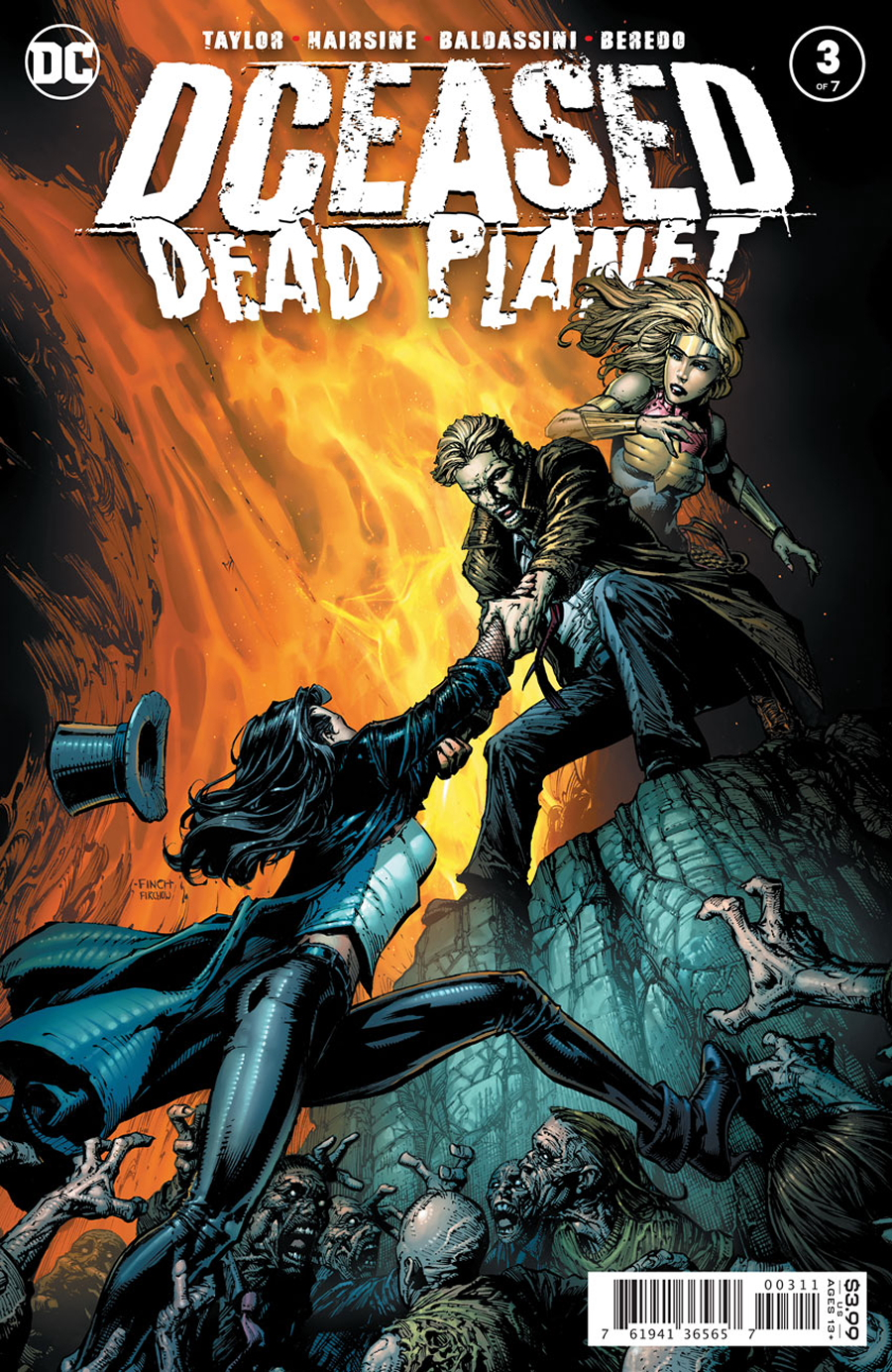 DCeased Dead Planet #3 NM//MT COVER C PUTRI MOVIE HOMAGE VARIANT 9//1 2020