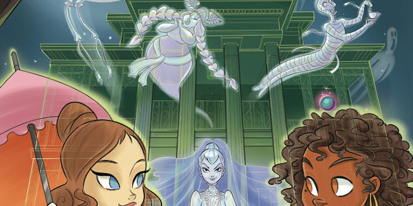Disney's Haunted Mansion 'Frights of Fancy' is new from IDW. This full colour graphic novel runs 76 pages and introduces us, foolish mortals, to a new ghost named Sydney. Sydney […]