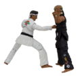We are pleased to let you know our Karate Kid action figures are finally in production