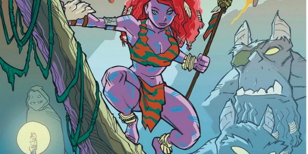 She purple, climbs trees, dresses in minimal loincloth, carries a spear, and fights aliens. It's Kyrra, the Alien Jungle Girl. And Scout Comics has Volume 1 available! When she's not […]