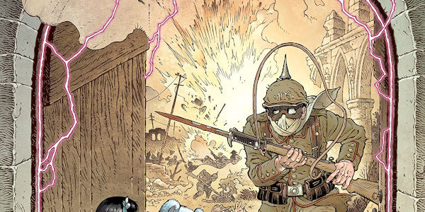 """The Locke and Key series resumes with IDW's In Pale Battalions Go… """"One of the Locke boys is desperate to join the war effort in Europe and turn the tide […]"""