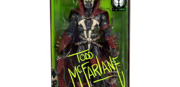 Mortal Kombat SPAWN Figure Autographed by Todd McFarlane Available Exclusively at Walmart August 4, 2020 –McFarlane Toys has teamed up with Walmart.com to offer collectors and fans a highly limited […]