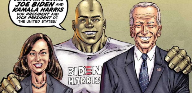 Alternate cover revealed ahead of voting day 2020 Image Comics partner and CFO Erik Larsen is voting Biden/Harris this election season with an alternate cover of Savage Dragon #253 revealed […]