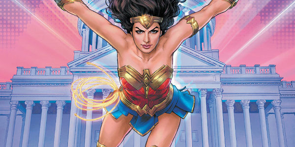 "DC, looking ahead to the sunny and joyous release day of the long-awaited Wonder Woman 1984 movie, has released a comic book tie-in. ""WW84"", issue #1, the 'Exclusive Movie Tie-In!' […]"