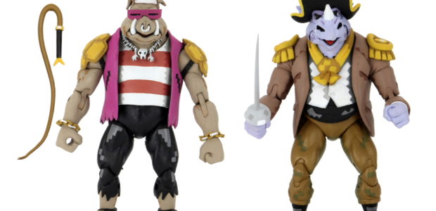 Pirate Rocksteady & Bebop 2-Pack and Ultimate Baxter Stockman Teenage Mutant Ninja Turtles: Turtles In Time – 7″ Scale Action Figure – Pirate Rocksteady & Bebop 2-Pack You're walking the […]