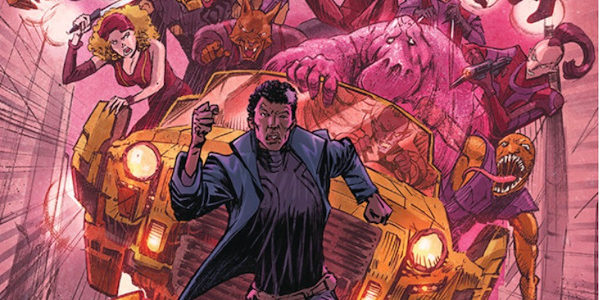 Paul Tobin writes circles in Heist #7, circles that encircle and ensnare Glane. Glane must make a run for it. But it's a long long way to get there from […]