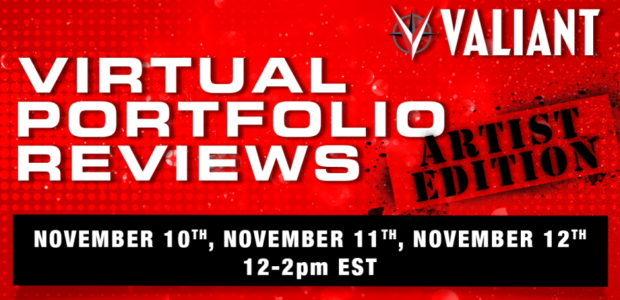 Round Three of the Virtual Portfolio Review program is on the way! Valiant Entertainmentwill host another edition of the program to assist aspiring comic book artists and find new creators […]
