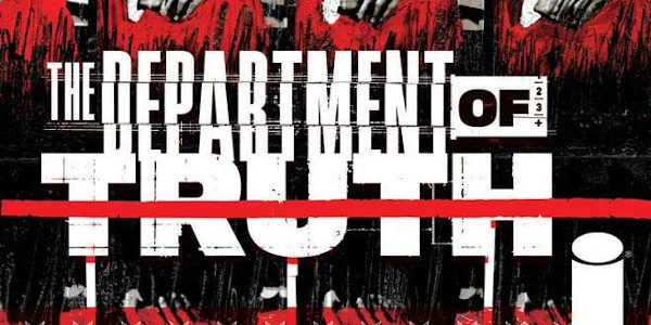 The truth, according to the second issue of The Department of Truth from Image Comics, is a many splendoured thing. Elusive, effusive, and God only knows. White lies, black boxes, […]