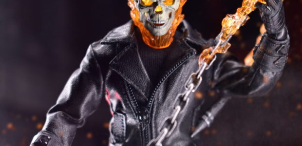 """""""Tonight, the guilty shall suffer."""" The Ghost Riderjoins the One:12 Collective along with his Hell Cycle – featuring a light-up function, removable flames, and sound feature! The One:12 Collective Ghost […]"""