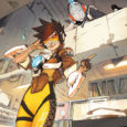 In a new five-issue miniseries based on the Overwatch game, Dark Horse is releasing a print version of Overwatch: Tracer-London Calling.