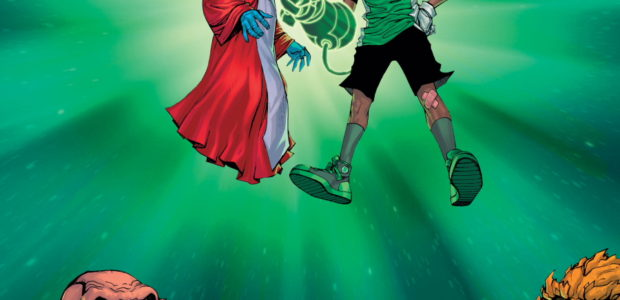 Young Justice's Teen Lantern Keli Quintela and Far Sector's Jo Mullein join the Corps Alongside the Legendary Green Lantern John Stewart! Beginning on April 6, DC's Green Lantern Corps are […]