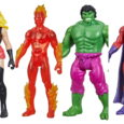 Hasbro Marvel has revealed some all new Marvel Legends Series Retro 3.75 figures inspired by iconic Marvel comics characters including Hulk, Carol Danvers, Magneto and Human Torch!