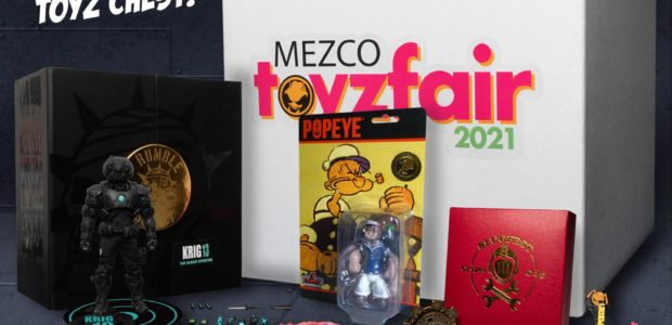 No pass? No problem! We're bringin' the show to you this year and we're not toyin' around! This exclusive 'Toyz Chest' is bursting at the seams with Mezco goodness. Inside, […]