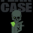 The cover is dark, with a dark grey skull coming out of a case. Fear Case #1 is open for business and ready for your fear. It's from Dark Horse.