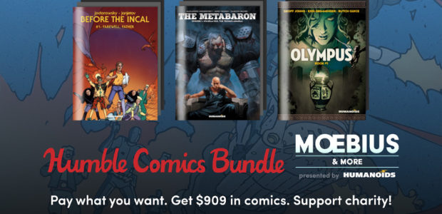 Humble Bundle is showcasing the latest AND the greatest of Humanoids Publishing in the Moebius & More Presented by Humanoids Bundle! For as little as $1, you can get GREATdownloadable […]