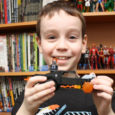 Sean shows off an awesome LEGO set! Spider-Man and Ghost Rider vs the evil Carnage!