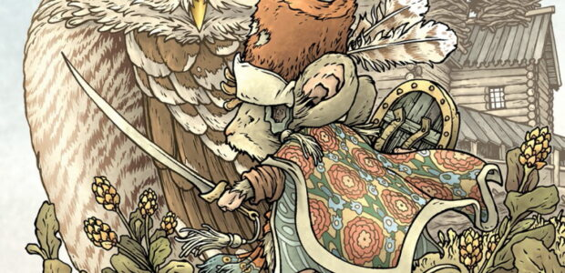 Discover a Brand New Special Issue from the Creator of the Award-Winning Bestselling Series in July 2021 BOOM! Studios today announced MOUSE GUARD: THE OWLHEN CAREGIVER, a special issue that collects […]
