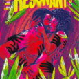 Resonant #9, from Vault, in its 'post-apocalyptic-Lost' environment, continues to engage us. It's constant war!