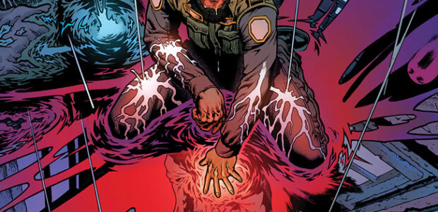 Comic book documentarian Patrick Meaney (Grant Morrison:Talking With Gods, The Image Revolution) teams up with artist Jeff Edwards (G.I. Joe), with a story by Mohsen Ashraf, for the forthcomingSyphon. This […]