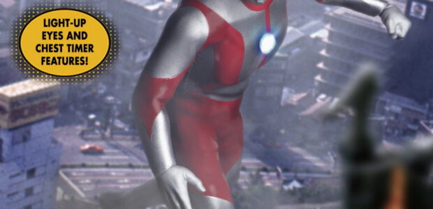 Hailing all the way from Nebula M78, Ultraman joins the One:12 Collective! Ultraman is outfitted in a combat suit powered by his Ultraman Factor, and features a light-up Color Timer […]