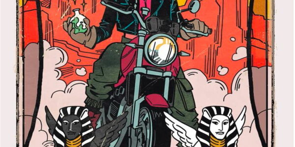 Witchblood occurs in the western US, modern-day. A bit dusty, a lot groovy. From Vault Comics, Witchblood #1. Yonna is on her motorbike, crossing the US southwest. She has her […]