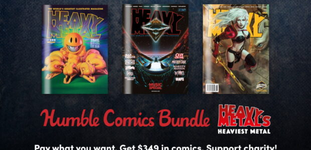 Bundle Features Over $341 Worth of Comics and Magazine Issues from creators Dan Fogler, Stephanie Phillips, George C. Romero, Dylan Sprouse, Jack Kirby, Richard Corben, Grant Morrison, and many more; […]