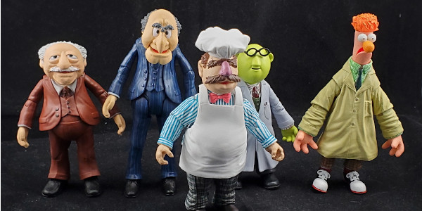 Diamond Select Toys wants to give us a second round a best of Muppets? Yes please! It looks like DST's first assortment of the best of Muppet action figures was […]