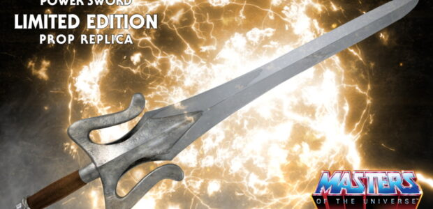 """Collectibles company Factory Entertainment announced today an addition to its ever expanding line of premium prop replicas; a real-world He-Man Power Sword from Masters Of The Universe. """"Fabulous secret powers […]"""
