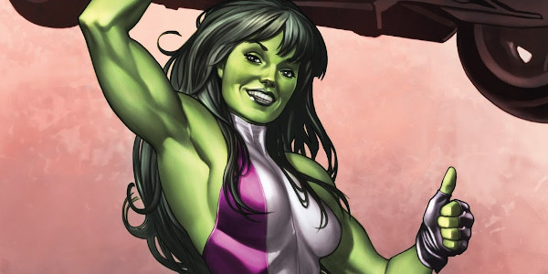 She's the Hulk's cousin. Learn all about the jade giantess, She-Hulk