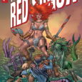 Princess Zaria of the Belanj Valley figures prominently in the first issue of Invincible Red Sonja, from Dynamite.