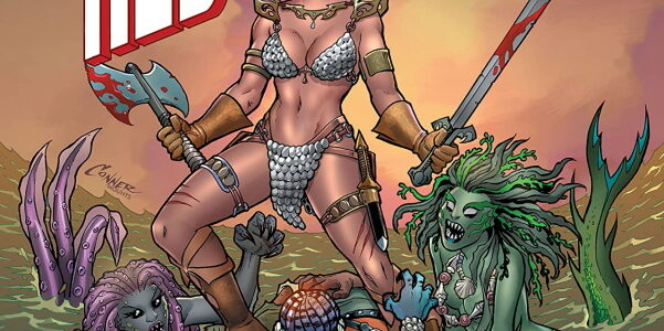 Princess Zaria of the Belanj Valley figures prominently in the first issue of Invincible Red Sonja, from Dynamite. Her long blonde flowing, her mouth constantly talking, she plays an increasingly […]
