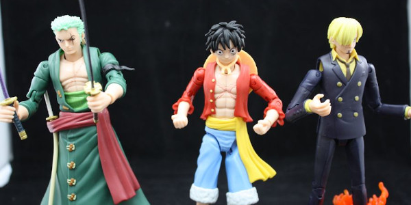 Bandai America brings us 3 characters from One Piece.