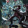 Catwoman smashes into the stained glass kaleidoscope of danger in DC Comics' Catwoman 2021 Annual.