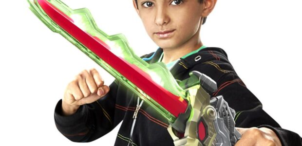 Hasbro just unveiled an all-new MORPHINOMINAL role-play item, the Power Rangers Dino Fury Chromafury Saber! The Chromafury Saber uses color-scanning technology and motion-activated light and sound effects that that lets […]