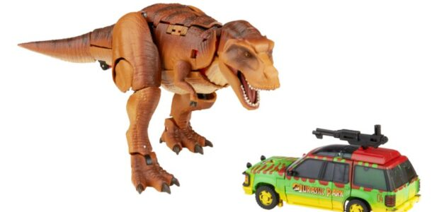 LIFE FINDS A WAY WITH NEW TRANSFORMERS X JURASSIC PARK COLLABORATION: INTRODUCING 'TYRANNOCON REX' AND 'AUTOBOT JP93' – AVAILABLE TO PRE-ORDER ON AMAZON NOW! 'More than Meets the Eye' Collides […]
