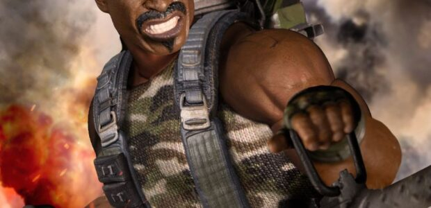 Enter Roadblock, the heavy machine gunner and latest addition to the One:12 Collective! The One:12 Collective Roadblock is battle-ready, outfitted in a tank top, cargo pants with thigh holsters, combat […]