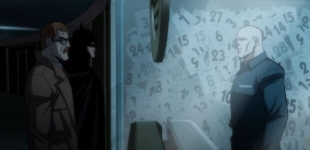 Calendar Man gets an audience with Batman and James Gordon in an all-new clip fromBatman: The Long Halloween, Part One. Clip Synopsis: Attempting to ascertain the identity of the Holiday […]