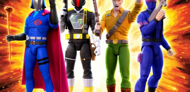 """G.I. Joe ULTIMATES! Wave 1! Super7 is proud to announce the debut of the cartoon-inspired G.I. Joe ULTIMATES! collection! These made-to-order, highly articulated, deluxe 7"""" scale figures highlight some of […]"""