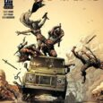 Man-oh-man, the cover of Geiger #4 from Image is a work of action art!