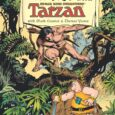 """In this 'team up', Groo Meets Tarzan #1, it's a multilevel """"playing around"""" field. From Dark Horse."""