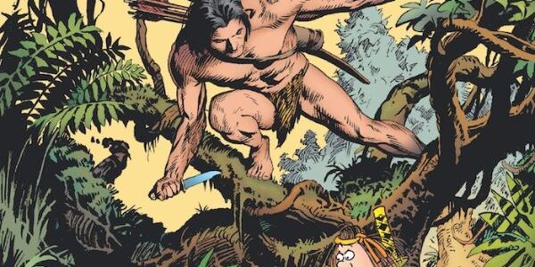 """In this 'team up', Groo Meets Tarzan #1, it's a multilevel """"playing around"""" field. From Dark Horse. Sergio Aragones teams up with Mark Evanier and artist Thomas Yeates to mix […]"""