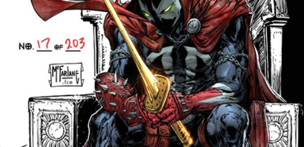 McFarlane's Lowest Print Run Ever Released, and each book will be signed with its own UNIQUE number on it The highly anticipated August launch ofKing Spawn #1will have two exciting […]